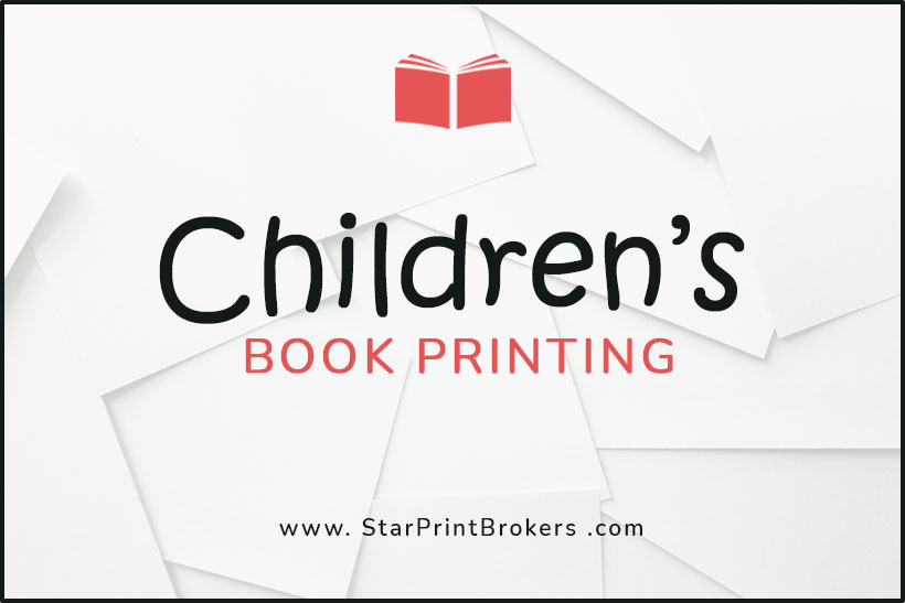 Childrens Book Printing with Safe Inks