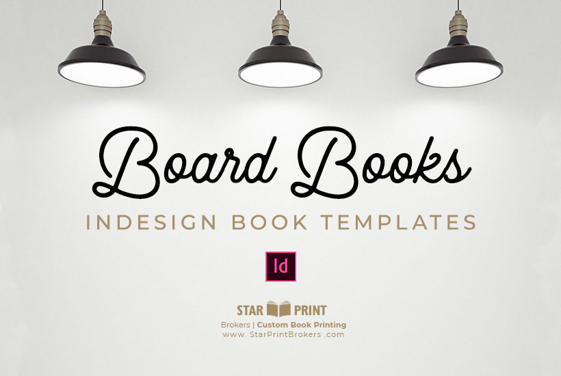 Childrens Board Book Templates to Download | Star Print Brokers