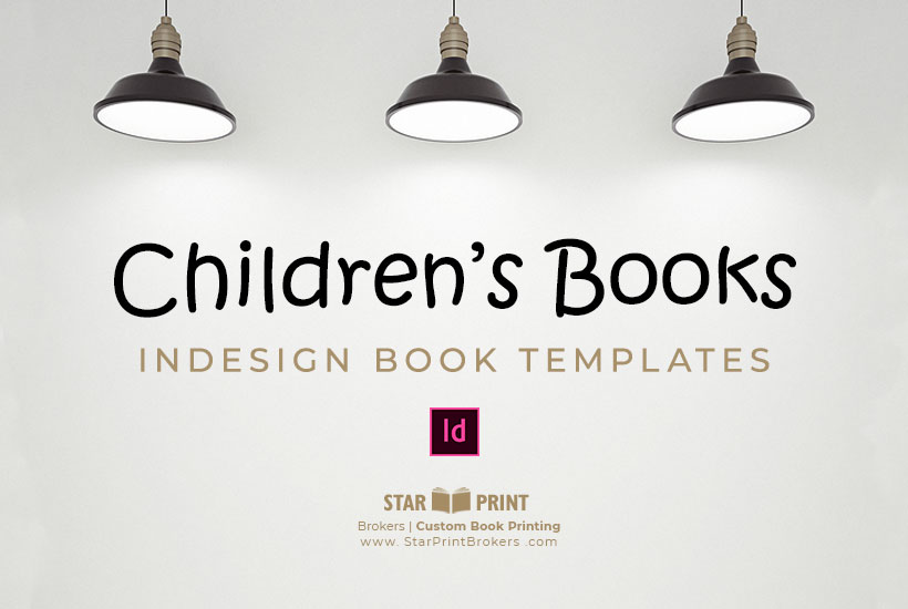 Childrens Book Template To Download Star Print Brokers