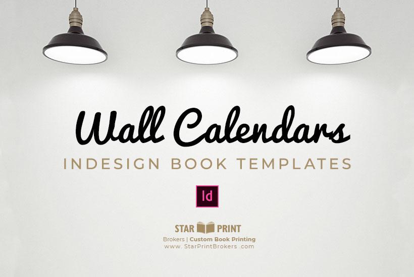 Wall Calendar Template Download Star Print Brokers
