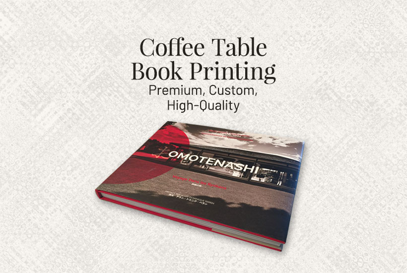 Premium Coffee Table Book Printing